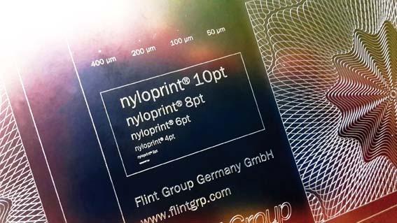 Flint Group develops direct engravable plate for pad